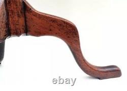 1750-1795 Chippendale Antique Federal Furniture Mahogany Tilt Top Tea Table