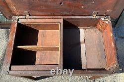 18th C Antique Chippendale Mahogany Sofa Table / Dressing Table