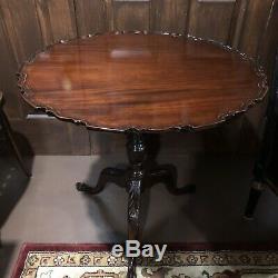18th Century Chippendale Tilt Top Table