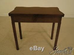 28030 KITTINGER CW-3 Colonial Williamsburg Mahogany Flip Top Table