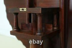 32164EC HENKEL HARRIS Ball & Claw Mahogany Tilt Top Table