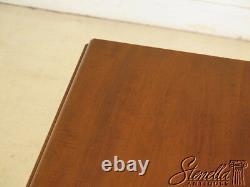 40132 SAYBOLT -CLELAND Chippendale Mahogany Pembroke Table