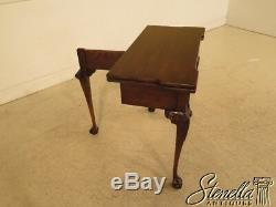 41485 STATTON Private Collection Oxford Cherry Clawfoot Card Table