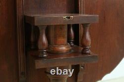 47702EC BAKER Tilt Top Ball & Claw Mahogany Table