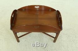 48800EC KITTINGER Chippendale Style Butler Coffee Table