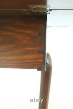 50145EC KITTINGER Colonial Williamsburg CW-134 Mahogany Drop Leaf Table