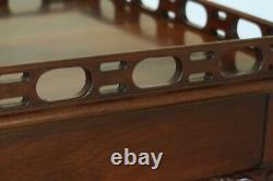 50195EC COUNCILL CRAFTSMEN Ball & Claw Chippendale Mahogany Tea Table