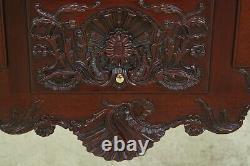 50439EC KINDEL Winterthur Collection Ball & Claw Mahogany Lowboy