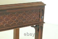 50987EC CENTURY Chippendale Mahogany 1 Drawer End Table