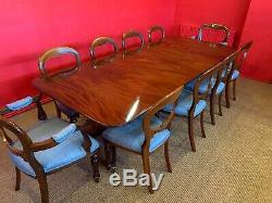 Amazing George III Style Cuban Mahogany Table Professionally French Polished