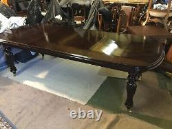 Amazing Regency Style Brazilian Mahogany Table Professionally French Polished