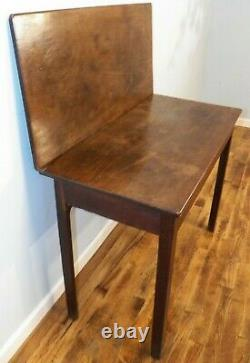 Antique 1750 Chippendale Card Table Walnut