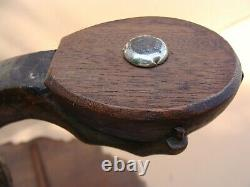 Antique 18C English Chippendale Mahogany Pie Crust Tip Table
