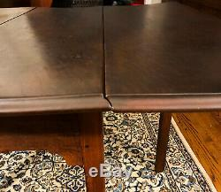 Antique 18th Century Chippendale Walnut Drop Leaf Table Shipping Available