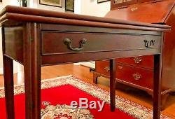 Antique 18th Century Philadelphia Chippendale Card Table Shipping Available