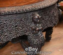 Antique Hand Carved Burmese Console Table Burma Circa 1880