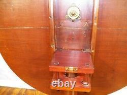 Antique Mahogany Tilt Top Tea Table