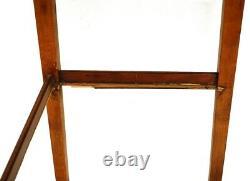 Baker Furniture Chippendale Small Narrow Secretary Writing Desk Entry Table VTG