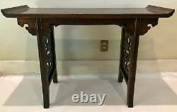 Baker Furniture by Michel Taylor Chinese Collection Console / Altar Table