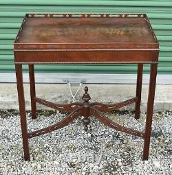 Baker Historic Charleston Chinese Chippendale Tea Table