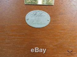 Baker Historic Charleston Collection Flame Mahogany Tea Table