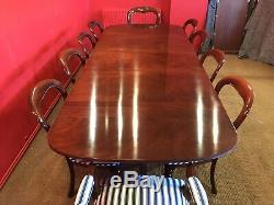 Beautiful Designer George III Style Brazilian Mahogany Table, French Polished