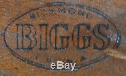 Biggs (KITTINGER) Chippendale Mahogany Small Drop Leaf Table Pembroke Table