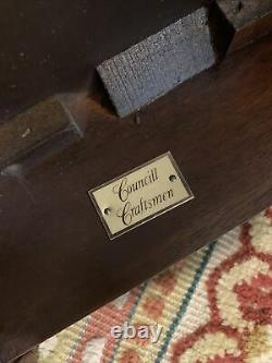 COUNCILL CRAFTSMEN Ball & Claw Chippendale Mahogany China Tea Table (EXC.)