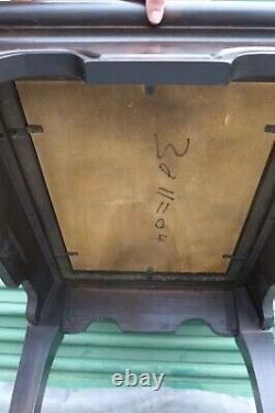 Chin Hua Ming End Table Vintage Chinoiserie Side Table Raymond Sabota Century