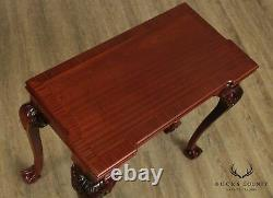 Chippendale Style Mahogany Folding Card Table, Game Table