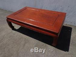 Coffee Table Bench Cocktail Chinese Chinoiserie James Mont Asian Chippendale