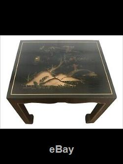 Coffee Table Cocktail Chinese Chinoiserie James Mont Asian Chippendale