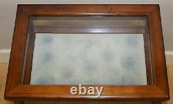 Edwardian Style Rectangular Mahogany Bijouterie Inlaid Side Lamp Table