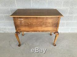 Ethan Allen 1776 Circa Chippendale Style 5 Drawer Lowboy (18-9001) Finish (218)
