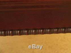 F45526EC THOMASVILLE Clawfoot Mahogany Coffee Table