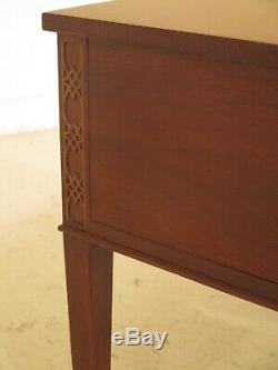 F47721EC BAKER Chippendale 5 Drawer Mahogany Desk Or Vanity
