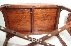Gerald Crawford Tom Goad Vintage Dollhouse Miniature Chinese Chippendale Tables