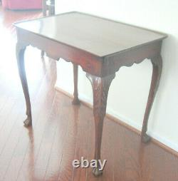 Gorgeous Unique 18th century Library or Tea table from Estate Sale