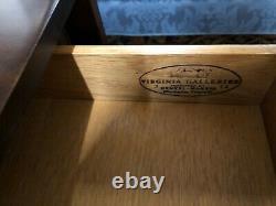 Henkel Harris Black Cherry Tables, Pair