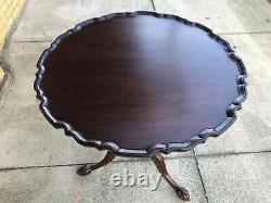 Henkel Harris Fine Authentic Reproduction Tilt Top Table