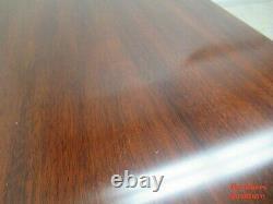 Henkel Harris Mahogany Chippendale Ball Claw Sofa Hall Foyer Table