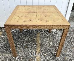 Henredon Chinese Chippendale Burl Dining Table