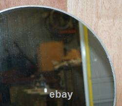 Huntington Aviation Industrial Art Deco Dressing Table & Mirror Aluminium Frame