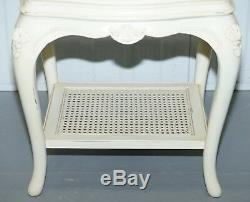 Ivory Collection Willis & Gambier Bedside Table Butlers Shelf Part Of A Suite