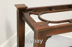 KNOB CREEK Mahogany Chippendale Dining Table Base
