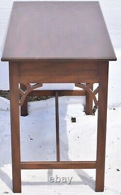 Kittinger Colonial Williamsburg Mahogany Chippendale Style Desk or Table WA 1004