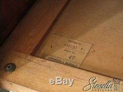L43908EC KITTINGER WA-1030 Chippendale Mahogany Bedside Commode