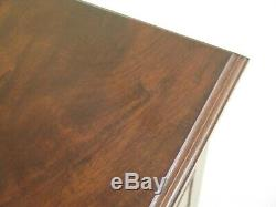 L47928EC Unusual Custom Walnut Drafting Chest Table