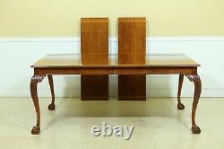 L51457EC STICKLEY Ball & Claw Mahogany Dining Room Table