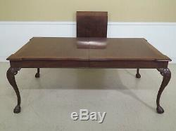 LF48224EC HENREDON Rittenhouse Square Collection Clawfoot Dining Room Table
